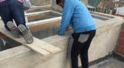Techo de vidrio con laminados de seguridad 2