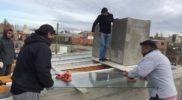 Techo de vidrio con laminados de seguridad 4