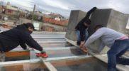 Techo de vidrio con laminados de seguridad 5