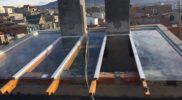 Techo de vidrio con laminados de seguridad 6
